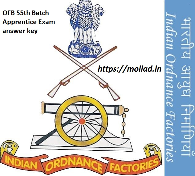 OFRC 55th Batch Exam Answer Key download