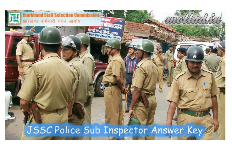 JSSC Police SI answer key