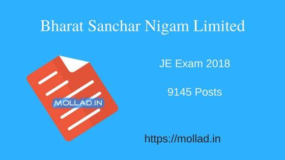 BSNL JE Exam