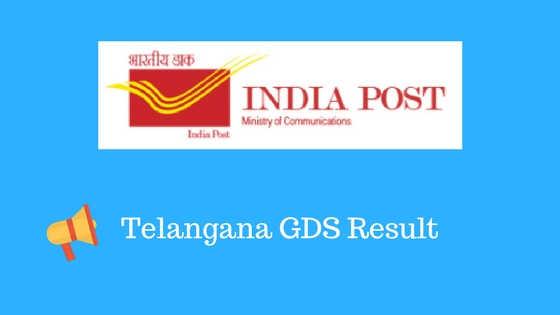 Telangana GDS Result
