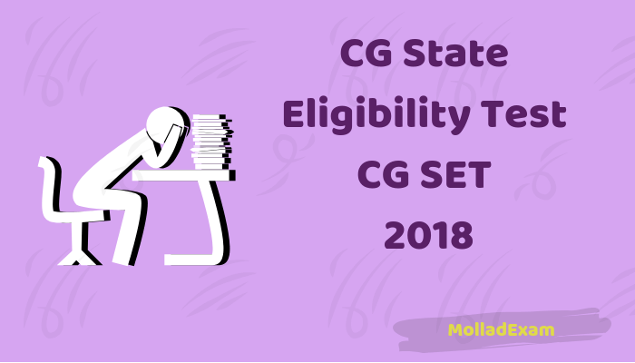 CG SET Answer Key 2019 Chhattisgarh State Eligibility Test