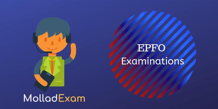 EPFO Examination