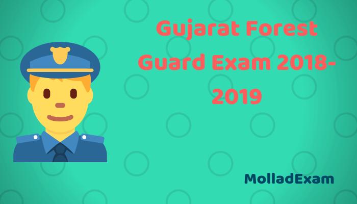 Gujarat Forest Guard Call Letter 2018Ojas VanRakshak Physical test Admit card Exam date 1