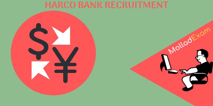 Harco Bank Admit Crad Exam Date