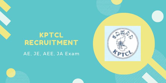 kptcl hall ticket & Exam date