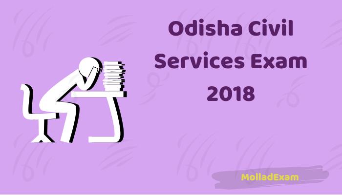 Odisha Civil Services Admit Card 2018 OPSC OCS Hall Ticket Download 1