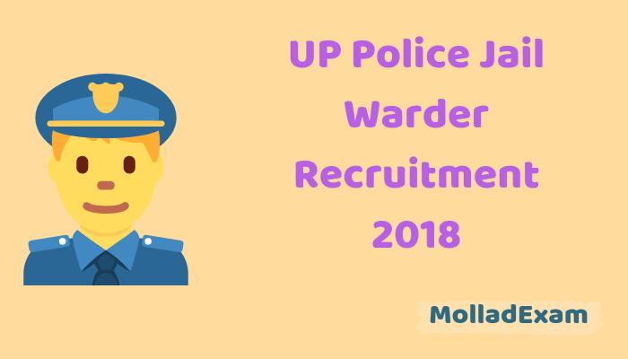 UP Jail Warder Admit Card